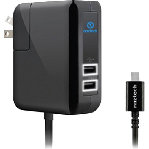 Naztech N422 TRiO Wall Charger with Micro-USB N422W-12434