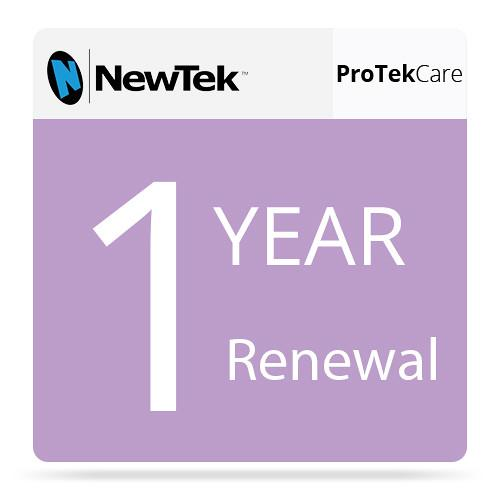 NewTek ProTek Care 1-Year Renewal for TriCaster FG-001207-R001