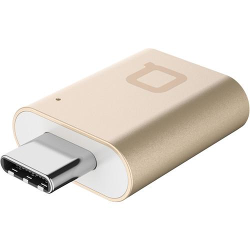 nonda USB Type-C to USB 3.0 Type-A Mini Adapter (Gold) MI22GDRN