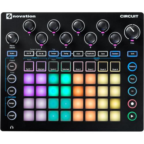 Novation Circuit - Groove Box Drum Machine CIRCUIT