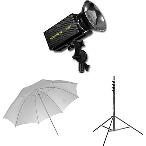 Novatron M300 2-Monolight Kit with Umbrellas N2643KIT