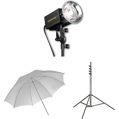 Novatron M500 2-Monolight Kit with Umbrellas N2649KIT