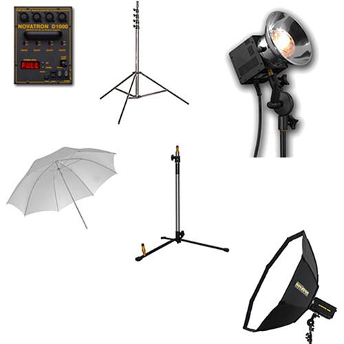 Novatron N2635KIT Head Complete Kit with Umbrella & N2635KIT