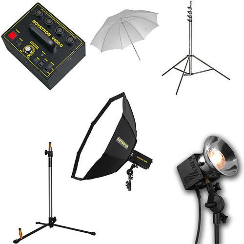 Novatron V400-D 3-Way Fan-Cooled Head Kit with Umbrella N2653KIT