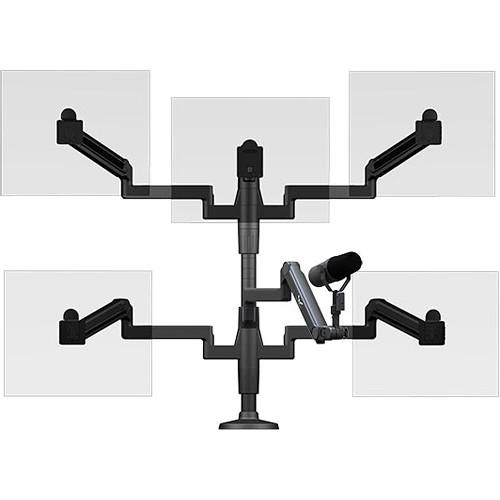 O.C. White Ultima Five Monitor Arm & Microphone SMS-HD-5-ULP