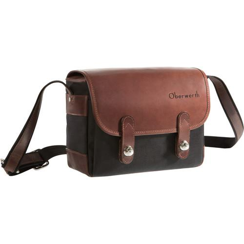 Oberwerth Freiburg Photo Bag (Black / Dark Brown) F-CS-LD 102