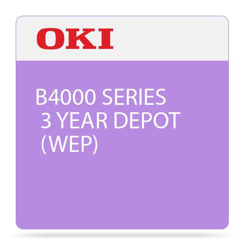 OKI 3-Year Depot Warranty Extension License for B4000 58265502