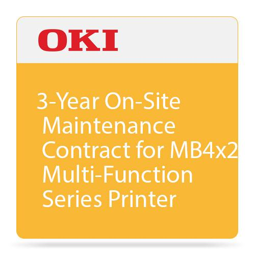 OKI 3-Year On-Site Maintenance Contract for MB4x2 38040203