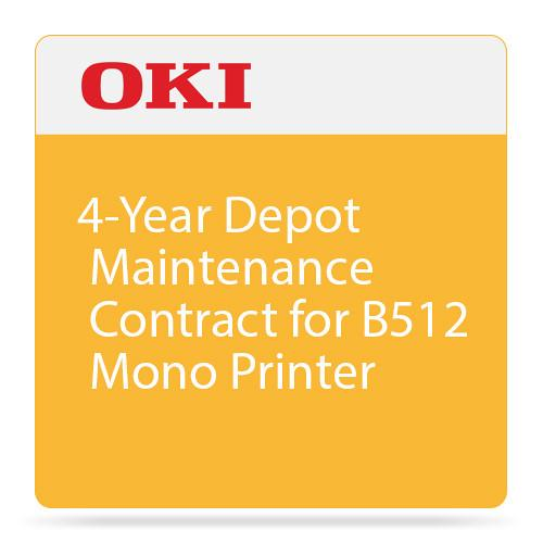 OKI 4-Year Depot Maintenance Contract for B512 Mono 38039704