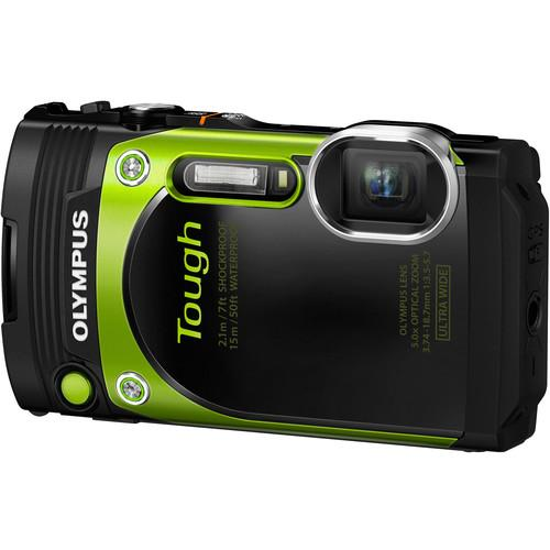 Olympus Stylus Tough TG-870 Digital Camera (Green TG-870)