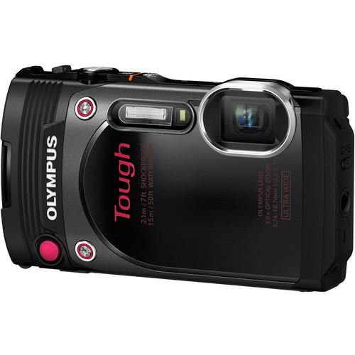 Olympus TG-870 Stylus Tough Digital Camera (TG-870 Black)