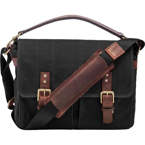 ONA Prince Street Camera Messenger Bag (Black) ONA5-024BL
