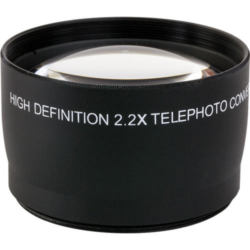 Opteka 2.2x 72mm High Definition II Telephoto Lens OPT22X72B