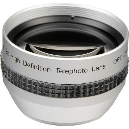 Opteka 2x High Definition II Telephoto Lens for 37mm OPT20T