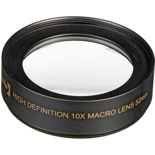 Opteka 52mm 10x High Definition II Professional Macro OPT5210X