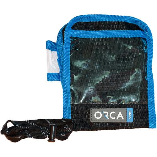 ORCA  Exhibition Name Tag Holder (Blue) OR-89