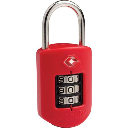 Pacsafe Prosafe 1000 TSA-Accepted Combination Lock (Red)