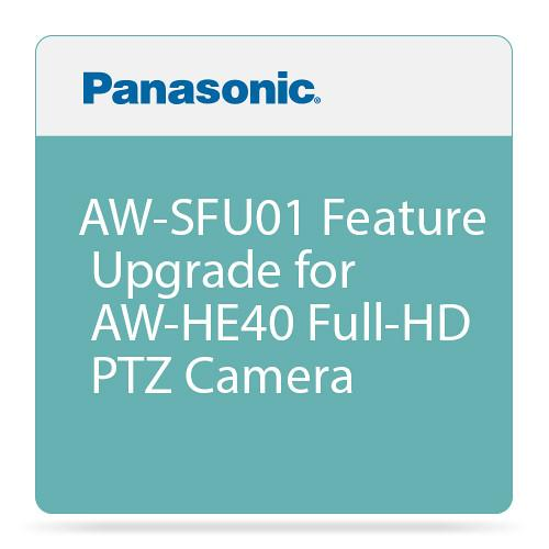 Panasonic AW-SFU01 Feature Upgrade for AW-HE40 Full-HD AW-SFU01G