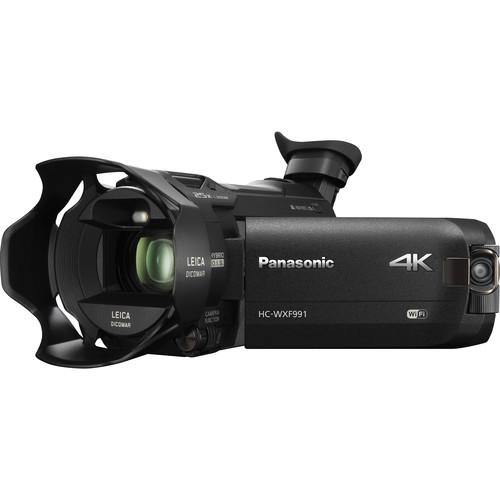 Panasonic HC-WXF991K 4K Ultra HD Camcorder with Twin HC-WXF991K