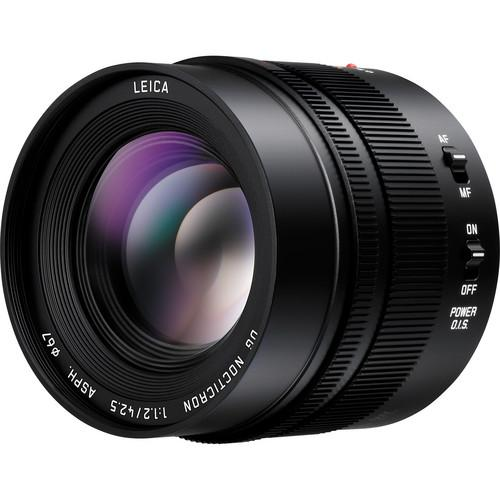 Panasonic Leica 42.5mm f/1.2 DG Nocticron ASPH Power OIS Lens