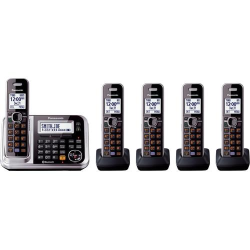 Panasonic Link2Cell Bluetooth Cordless Phone KX-TG7875S
