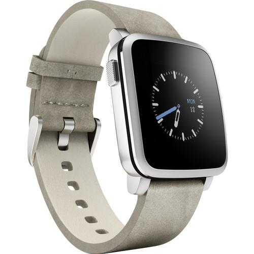 Pebble  Time Steel Smartwatch 511-00023