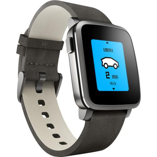 Pebble  Time Steel Smartwatch 511-00024