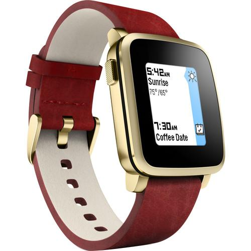 Pebble  Time Steel Smartwatch 511-00036