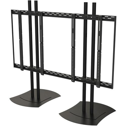 Peerless-AV Floor Stand Video Wall Mount for 40 to DS-VWS546-2X2