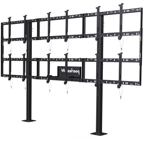 Peerless-AV Modular Video Wall Pedestal Mount for 46 DS-S555-3X2
