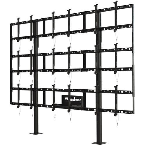 Peerless-AV Modular Video Wall Pedestal Mount for 46 DS-S555-3X3