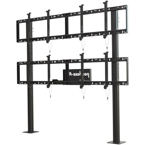 Peerless-AV Modular Video Wall Pedestal Mount for 46 DS-S560-2X2