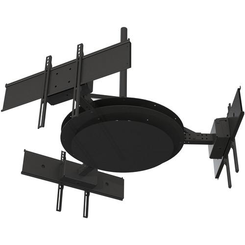 Peerless-AV Multi-Display Ceiling Mount with Three DST980-3