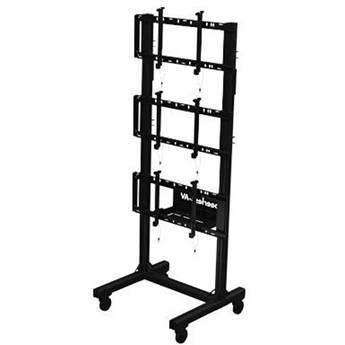 Peerless-AV Portable Video Wall Cart for 46 to DS-C560-1X3