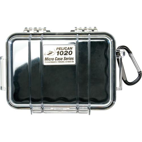 Pelican 1020 Micro Case (Clear Black) 1020-025-100