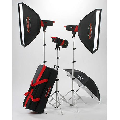 Photogenic Matrix MCD400R 400Ws Monolight 3-Light Kit 907006