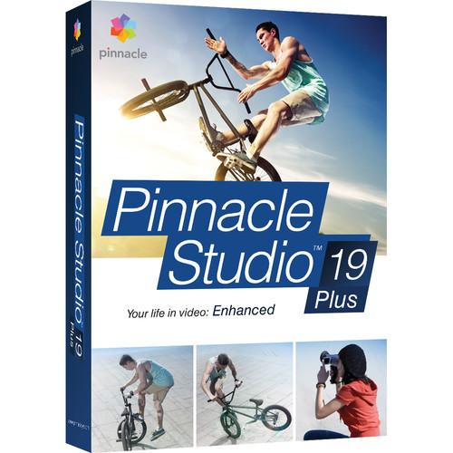 Pinnacle Studio 19 Plus for Windows (Box) PNST19PLENAM