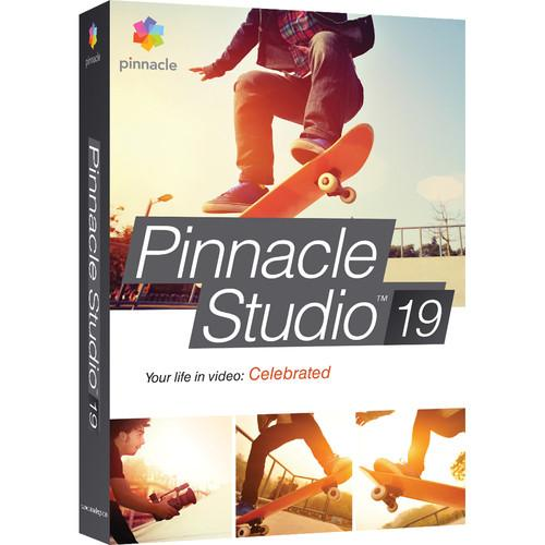 Pinnacle Studio 19 Standard for Windows (Box) PNST19STENAM