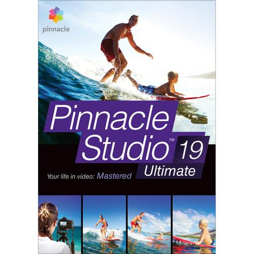 Pinnacle Studio 19 Ultimate for Windows (Download) ESDPNST19ULML