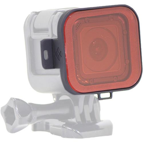 Polar Pro Red Snorkel Filter for GoPro HERO4 Session P7001