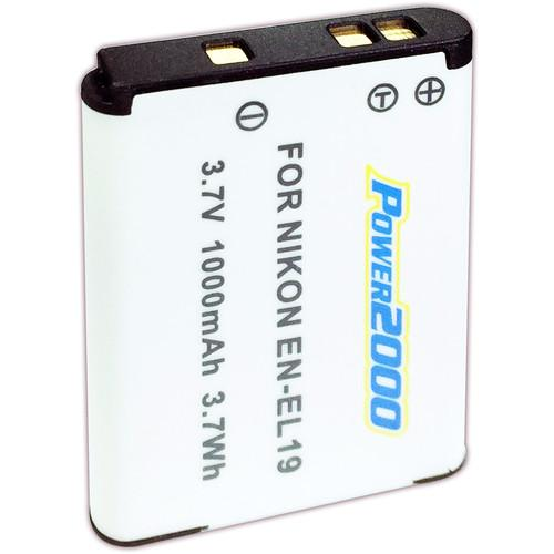 Power2000 EN-EL19 Rechargeable Lithium-Ion Battery Pack ACD-338