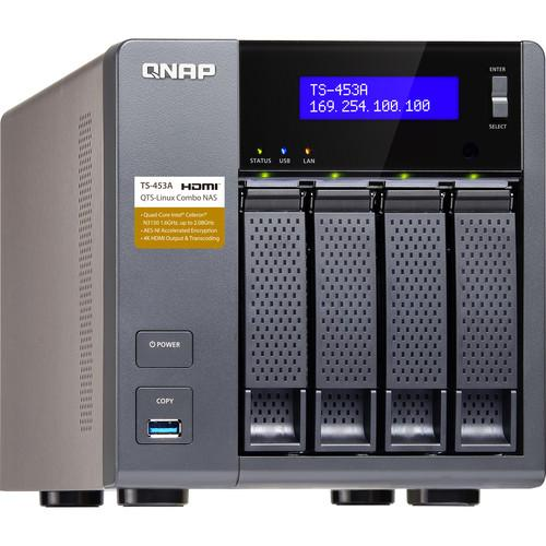 QNAP TS-453A Four-Bay NAS Enclosure TS-453A-4G-US