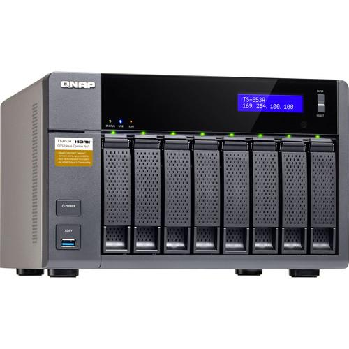 QNAP TS-853A Eight-Bay NAS Enclosure TS-853A-8G-US