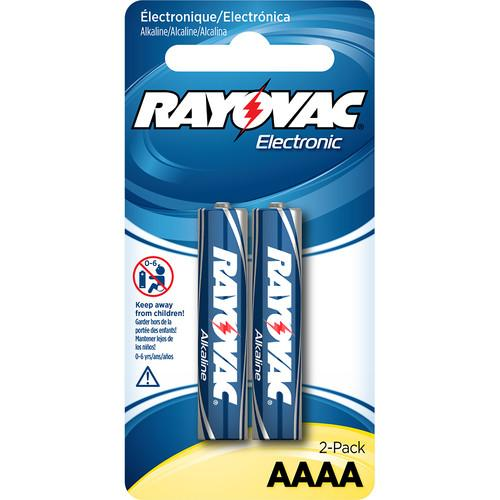 RAYOVAC AAAA 1.5V Alkaline Battery (Carded, 2-Pack) KE825-2