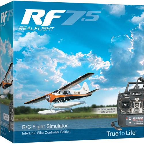 RealFlight RF7.5 R/C Flight Simulator with InterLink GPMZ4520