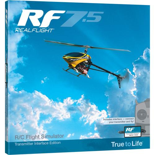 RealFlight RF7.5 R/C Flight Simulator with Wired GPMZ4525
