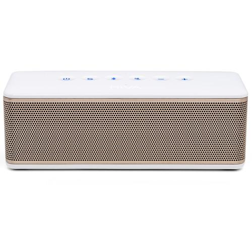 RIVA Audio S Bluetooth Wireless Speaker (White/Gold) RS01G