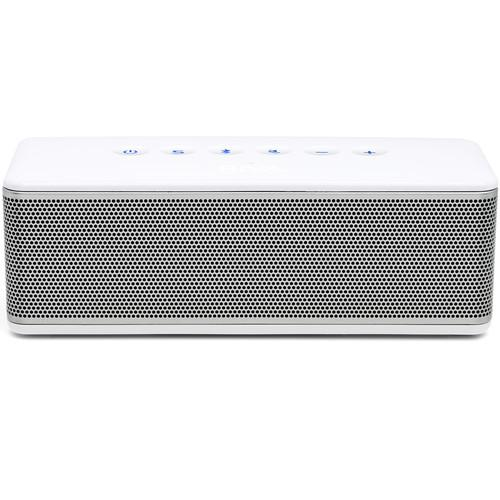 RIVA Audio S Bluetooth Wireless Speaker (White/Silver) RS01S