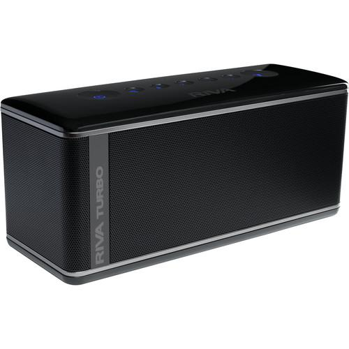 RIVA Audio Turbo X Bluetooth Wireless Speaker (Black) RTX01B
