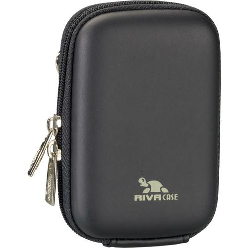 RIVACASE 7022 Series Digital Camera Case for Point and 7022BLCK